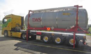 Tankcontainer-Chassis für Thommen Furler AG